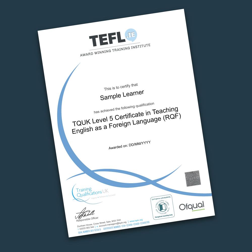 Digital Ofqual Certificate & Transcript