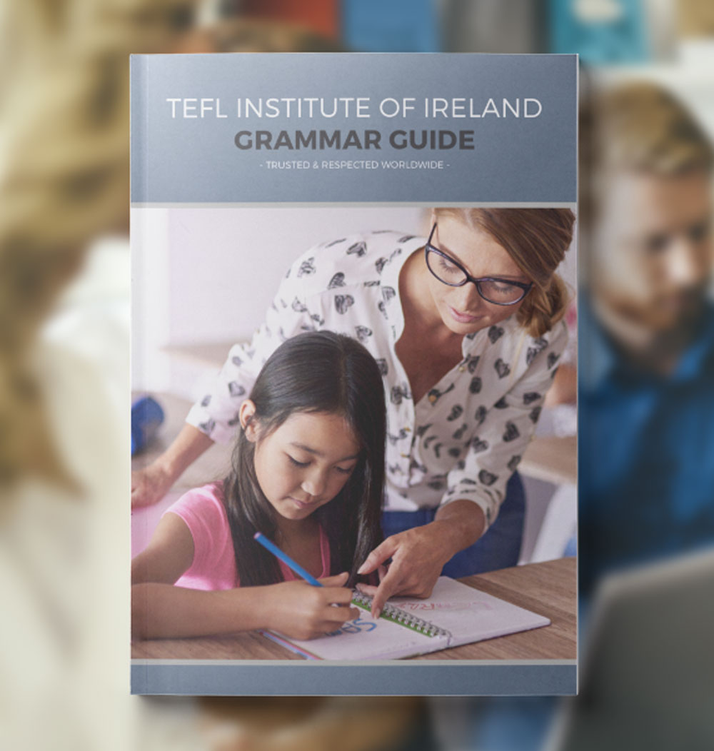 The TEFL Institute Ultimate Grammar Guide: 40 Pages PDF