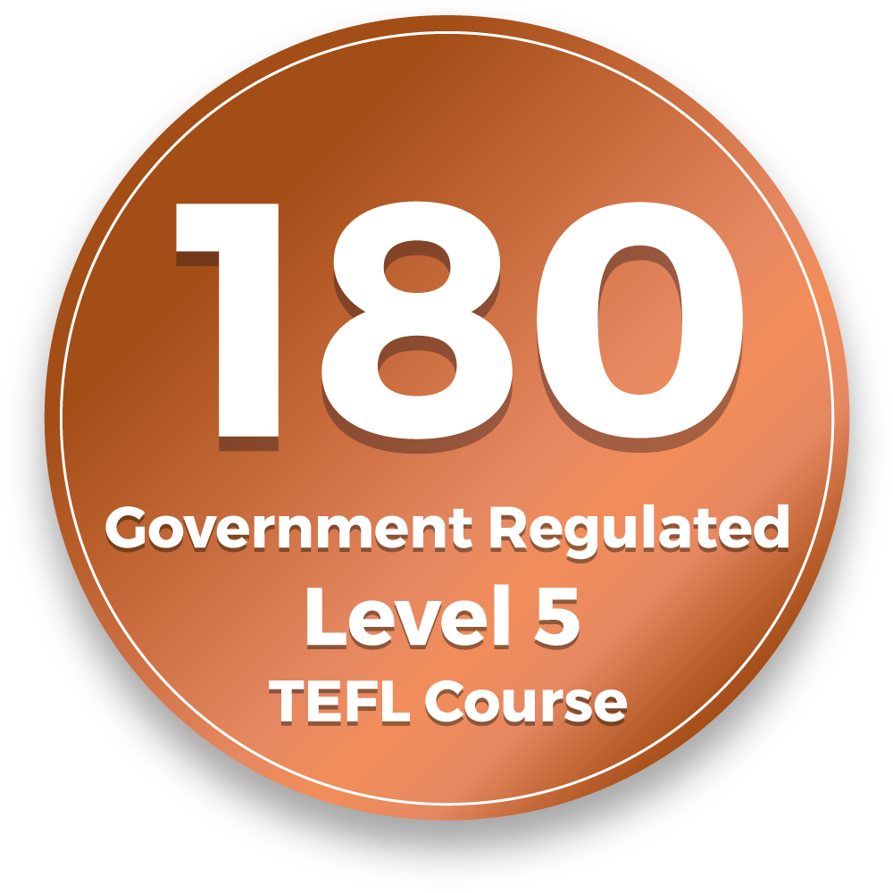 Image for  Government Regulated- Level 5 TEFL Course Internationally recognized 180 Hour Advanced TEFL course - fully accredited