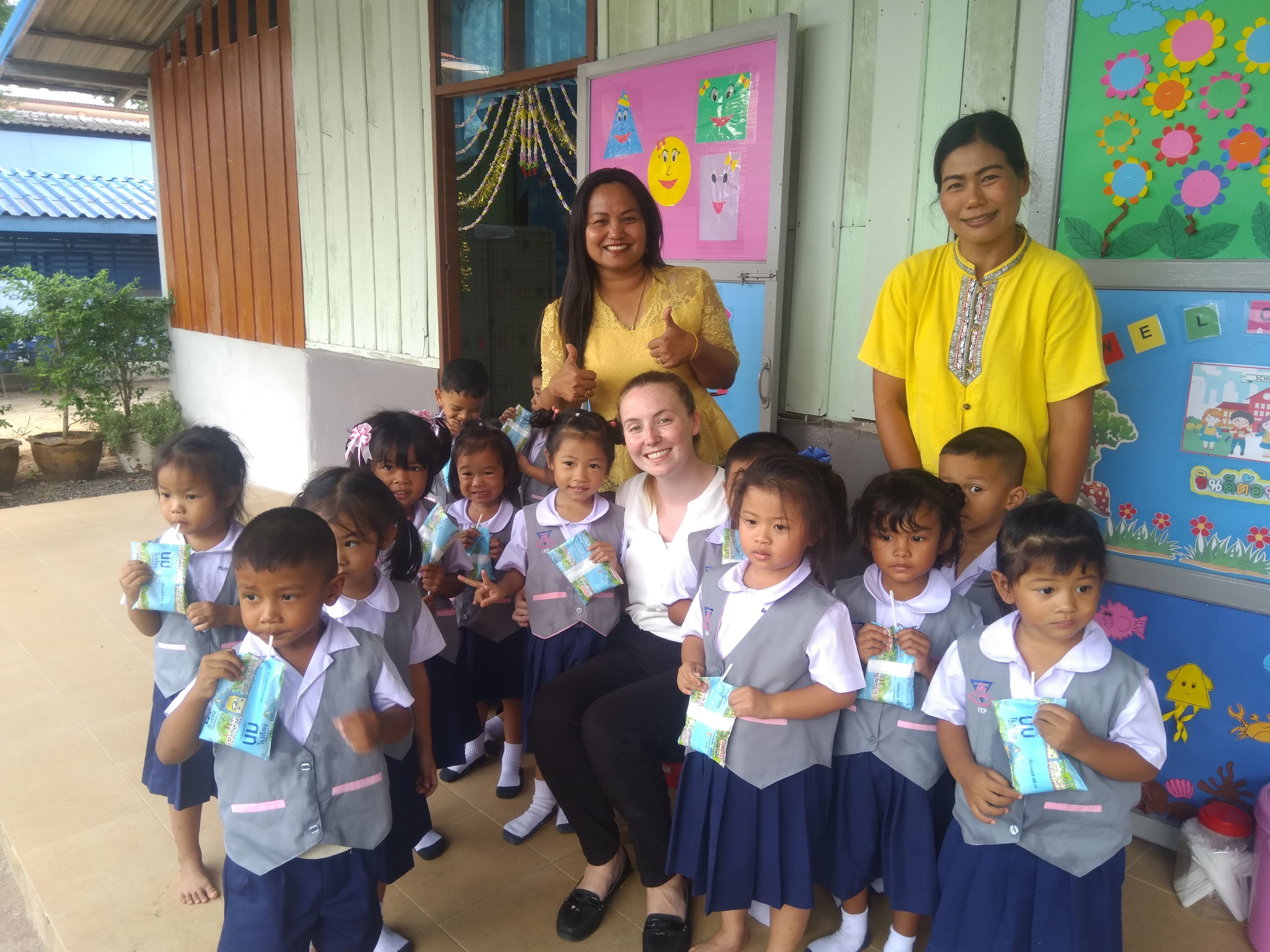 Interview with Caoimhe in Thailand
