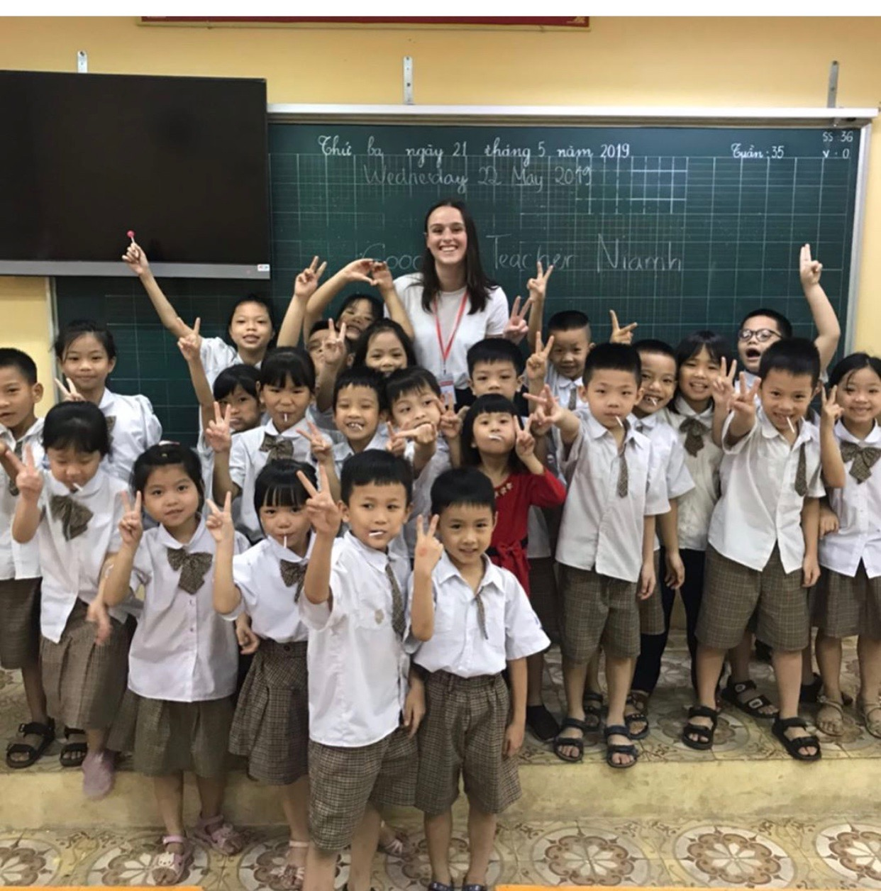 Interview with Niamh in Vietnam