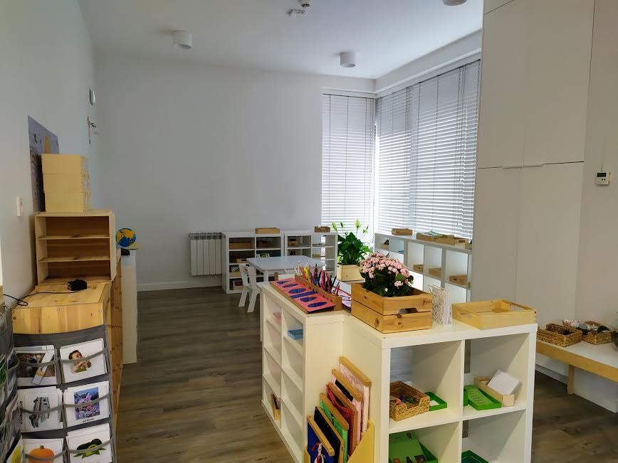 Montessori Pre-School TEFL teaching