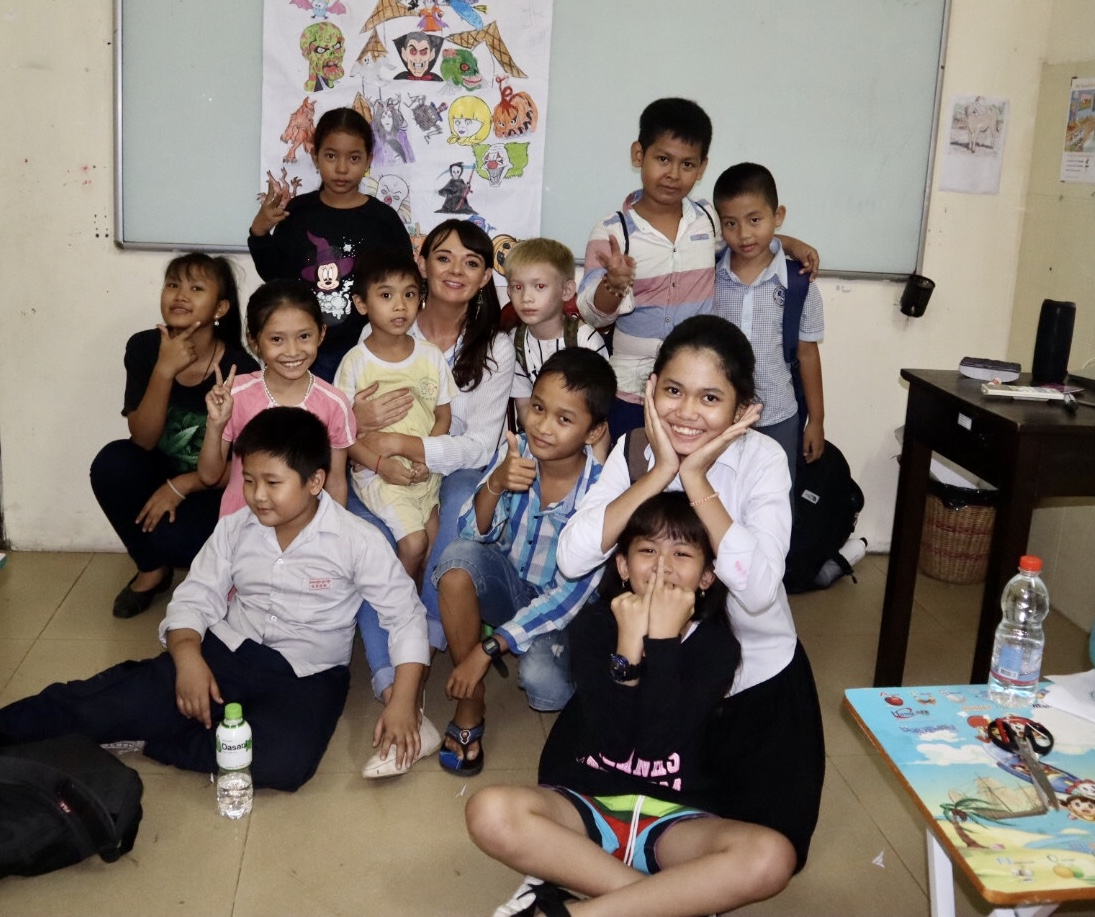 Read Sara's story on living & teaching in Cambodia