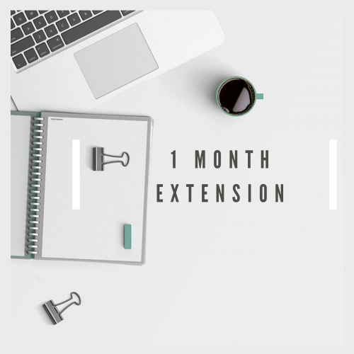 1-month extension