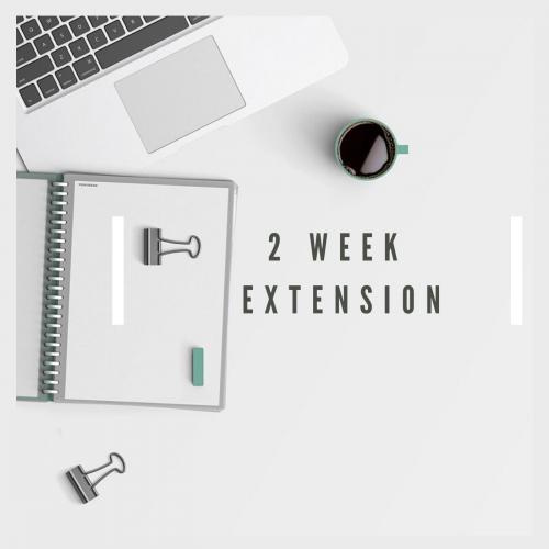 2-week extension