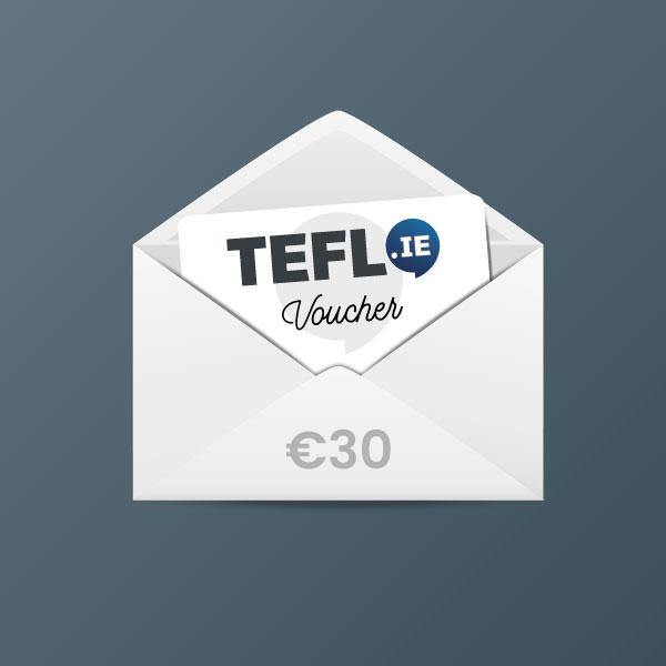 TEFL Institute of Ireland Voucher €30