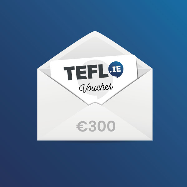 TEFL Institute of Ireland Voucher EUR 300