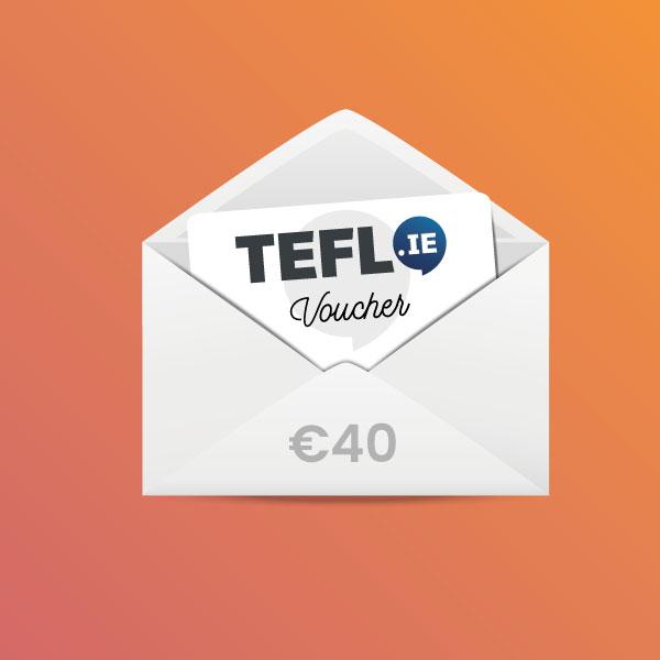 TEFL Institute of Ireland Voucher €40