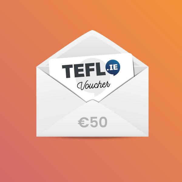 TEFL Institute of Ireland Voucher €50